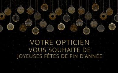 Optical Premium vous souhaite de bonnes fêtes